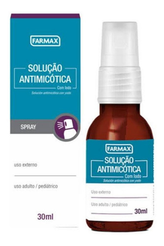 Antimicótica Spray 30ml Farmax Lakesia