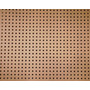 Placa Eucatex, Painel Perfurada, 0,60cm X 0,40cm X 2,5mm