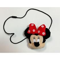 Bolsa Minnie Mouse Infantil Disney Acessorio Fantasia+brinde