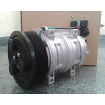 Compressor Ar Condicionado Tm21 Hpad 24 Volts Polia 8pk Novo