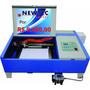 Máquina Laser Co2 30x20cm 50w Completa P/ Corte E Gravação