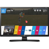 Smart Tv Monitor Lg 28 Led 28mt49s-ps Hd Wi-fi Netflix