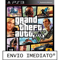 Gta 5 Grand Theft Auto 5 Ps3 Mídia Digital Psn Pt-br