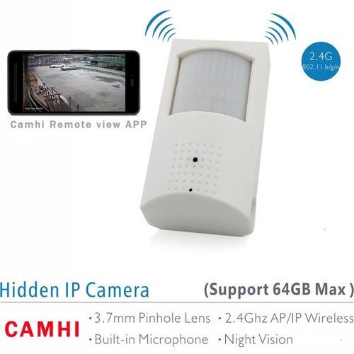 357af0c056bf0 Mini Camera Ip Wifi Sem Fio Escondida Em Sensor De Presença