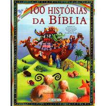 Livro 100 Histórias Da Bíblia (criança) - Capa Dura