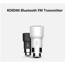 Roidmi Bluetooth Usb Carro Fm Carregador 2 Porta Usb Xiaomi