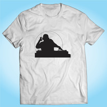 Camisa Dj - Música Eletrónica - Pop - Personalizada