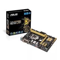Placa Mãe Intel 1150p Asus H81m-c/br (1 Ano De Garantia)