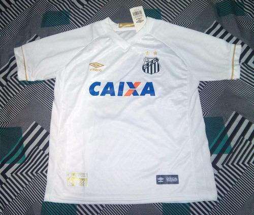 09763645a6 Camisa Santos 2018 - 2019 Supporter Torcedor Infantil