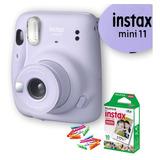 Câmera Instax Mini + Filme + Brinde