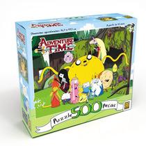 Novo Quebra-cabeça Puzzle 500 Peças Adventure Time