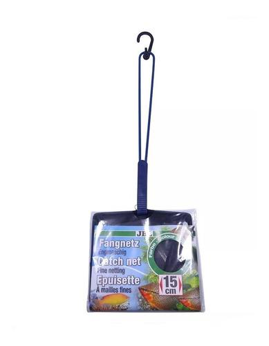 Rede Jbl Para Peixes Aquários 15 X 14cm Cabo De 30cm Redinha