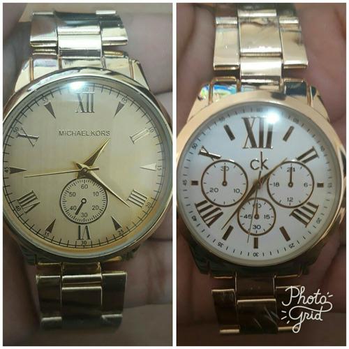 72719dec8b0 Kit Com 10 Relógios Feminino Dourado Lote Atacado Revenda