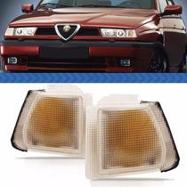 Seta Lanterna Dianteira Alfa Romeo 155 95 94 93 92 Cristal
