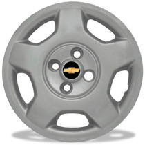 Jogo Calota Aro 14 Corsa Hatch 04 4 Peças Emblema Resinado