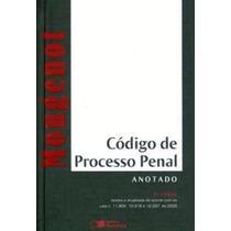 Código De Processo Penal Anotado 3ª Edição (livro Novo)moug