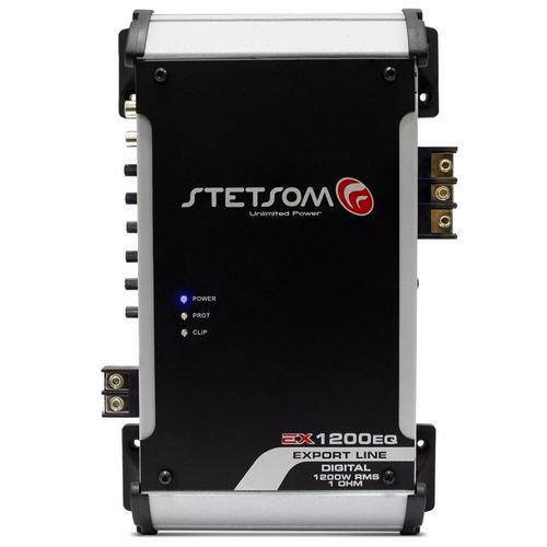 Módulo De Potência Stetsom 1k Eq 1200 Novo Ex - 1200 W Rms