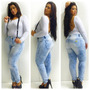 Calça Jeans Feminina Com Elastano Skinny Elastano Barata