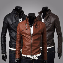 Jaqueta Couro Masculina Jacket Pronta Entrega No Brasil