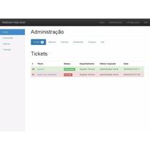 Script Php Mysql Sistema De Chamados E Criação De Tickets