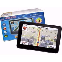 Gps Automotivo Foston Fs-3d710dt Fm/3d/tv/4gb Tela 7 Novo