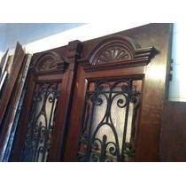 Porta Em Madeira Imbuia E Canela