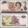 New Zealand Nova Zelândia P-169a Fe 1 Dollar 1981 - 1992 Col