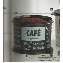 Produtos Tupperware (pote Café)