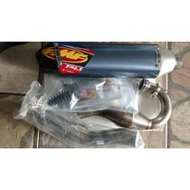 Ponteira Escape Completo Fmf 4.1 Titanium Carbono Kxf 250