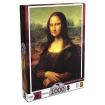 Quebra-cabeça Leonardo Da Vinci - Monalisa - 1000 Peças - Gr