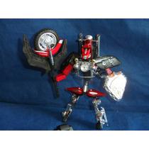 Robô Transformer Harley Davidson Roadbot Usada Incompleto