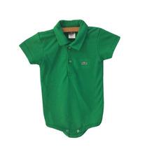 53c62c0031e13 Camisa Camiseta Lacoste Arco Iris Nova Estoque · R  71,00 · Body Bebe Marca  Lacoste Verde Algodão