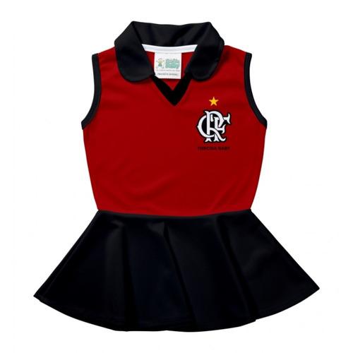 Vestido Bebê Flamengo Polo Regata - Torcida Baby cb37c80718964