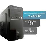 Micro Pc Desktop Dual Core 2.7 Ghz    4gb Ram - Hd 320 Giga
