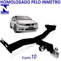 Honda Civic 2014 2015 Engate Reboque