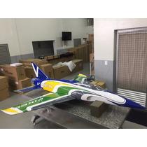 Jato Aeromodelo Vixen Xtreme Arf (amarelo/ Verde/ Azul)