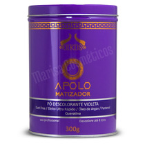 Pó Descolorante Oikos Matizador Violeta 300g Profissional
