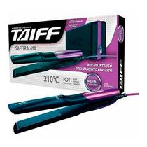 Prancha Taiff Saffira 410 210ºc Rosa/roxo Bivolt Automático