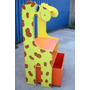 Estante Girafa C/ Báu - Estante Infantil
