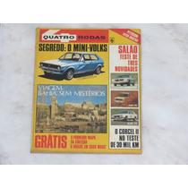 Revista Quatro Rodas 219 Outubro 1978 - Alfa Fiat Corcel Gol
