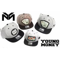 Boné Aba Reta Young Money Varios Modelos Pronta Entrega