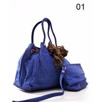 Bolsa Feminina Couro Transversal Importada Baratas 2 Em 1