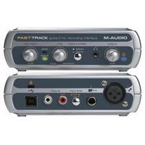 Interface De Áudio Usb Maudio Fast Track Usb M-audio Placa