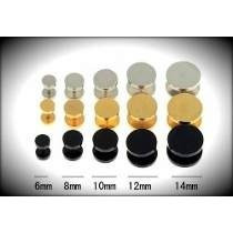 Falsos Alargadores 6mm 8mm 10mm 12mm 14mm