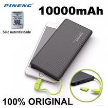 Carregador Portátil Celular 10000mah Bateria Externa Pineng