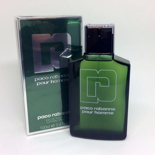 Paco Rabanne Pour Homme ( Verde ) 100ml Masculino Original
