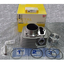 Kit Cilindro Motor Pistão / Anel Motor 200cc Cbx/nx/xr