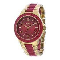Relógio Feminino Euro Premium Analógico Eu2036aimt/4r Origin