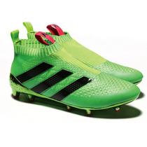Chuteira Adidas Ace 16.1 Purecontrol Verde - Sem Cadarço!
