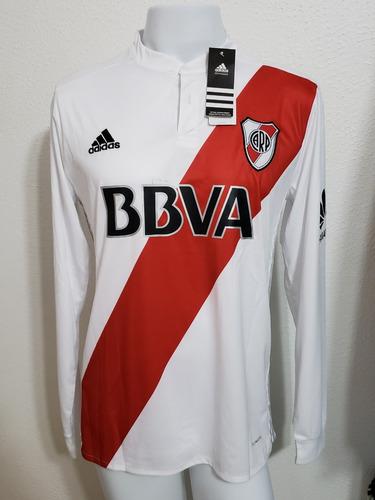 50aff3415f Camisa River Plate Home 17-18 Manga Longa Martinez 10